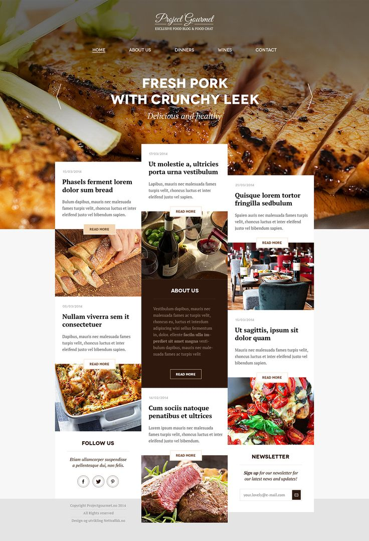 Exclusive Food Blog
