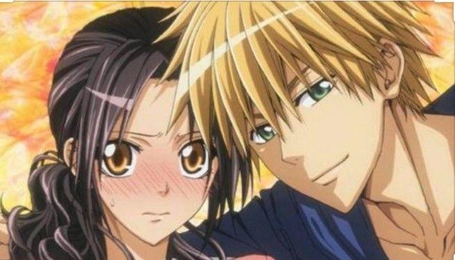 انمي رئيسة مجلس الطلبة نادلة اوthe Student Council President Is A Maid Best Romance Anime Maid Sama Manga Anime Romance