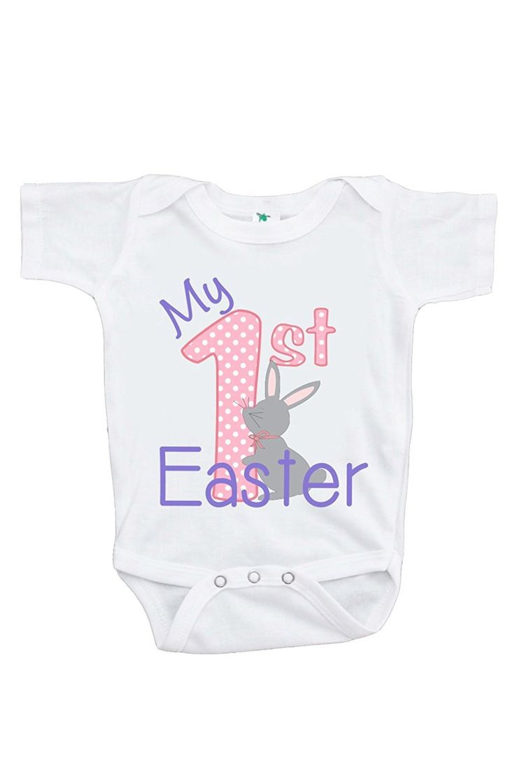 47 best easter gifts for baby images on pinterest easter gift custom party shop baby girls novelty my 1st easter onepiece negle