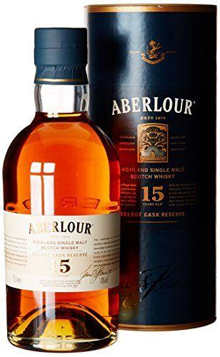 Aberlour Whisky Single Malt 15 ans 70 cl: Origine : Ecosse 43% Volume Alcool Bouteille de 70 cl Cet article Aberlour Whisky Single Malt 15…