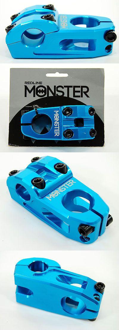 Stems 177827: Redline Monster Top Load Bmx Bike Stem, Blue, 25.4 X 53 X 28.6 -> BUY IT NOW ONLY: $31.87 on eBay!