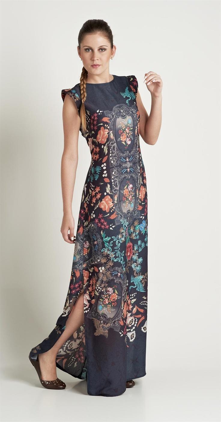 Vestido Longo Espelhado | Novidades | Antix Store