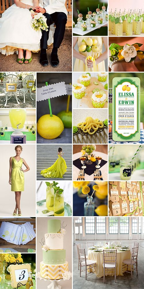 Lemon and Lime Weddings