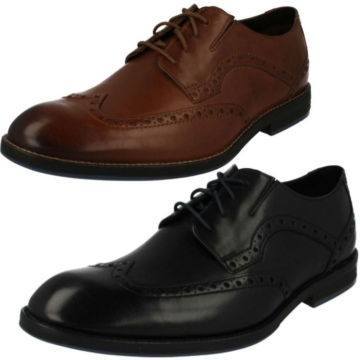 United Footwear - Men's Clarks Formal Lace Up Brogue Shoes Prangley Limit, �74.99 (http://united-footwear.co.uk/mens-clarks-formal-lace-up-brogue-shoes-prangley-limit/)
