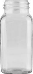 6 OZ 43MM 43-485 FRENCH SQUARE GLASS JAR. This jar has a distinctive rectangular profile, a great choice for #unique bottling. It is also applicable for use across industries. This jar is excellent for food and useful for products that need a wide opening for #dispensing.