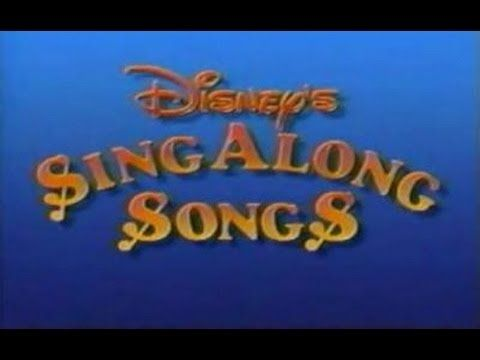The only possible way for me to get excited for a Disneyland trip.  ▶ Disney Sing Along Disneyland Fun HD - YouTube