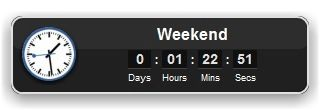 A generic countdown widget. Set date and time of the event and it shows the time left. In addition to single events the counter can be repeated daily, weekly, monthy or yearly which advances automatically when the alert goes off. It's the perfect widget for reminders on single events, lunchbreaks, weekends, paying your monthly bills or birthdays and holidays.