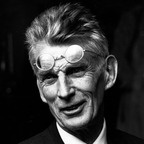 "Samuel Beckett  Writer / 1906 - 1989  Samuel Beckett was an Irish poet and dramatist who contributed greatly to ""Theatre of the Absurd."" His most famous play is Waiting for Godot."
