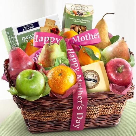 Fruit and Gourmet Basket for Mom - CFG8019M