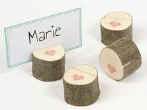 1 Tischkartenhalter / Kartenhalter - Hochzeit