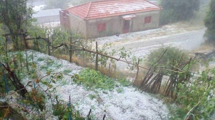Καταστροφές από το πέρασμα της «Μέδουσας» σε ολόκληρη την Ελλάδα