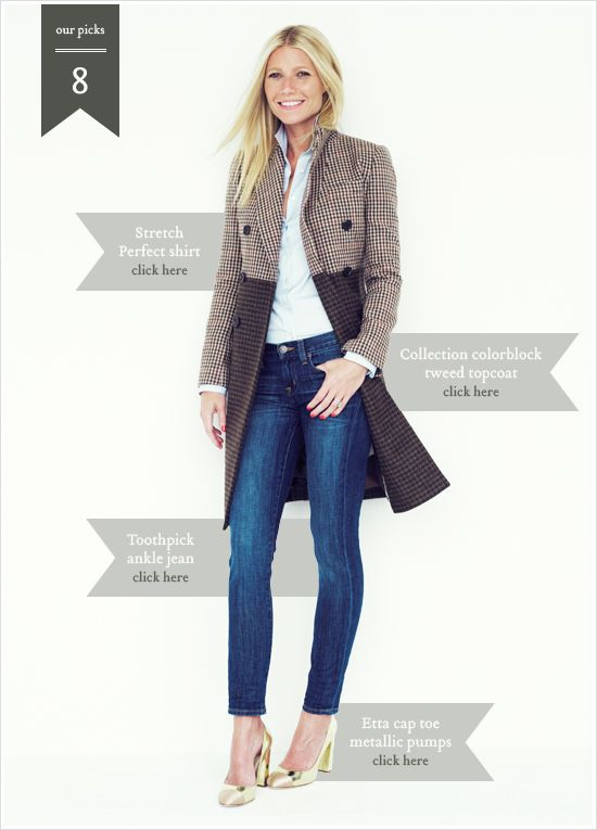 J.Crew Teams Up With Gwyneth Paltrow