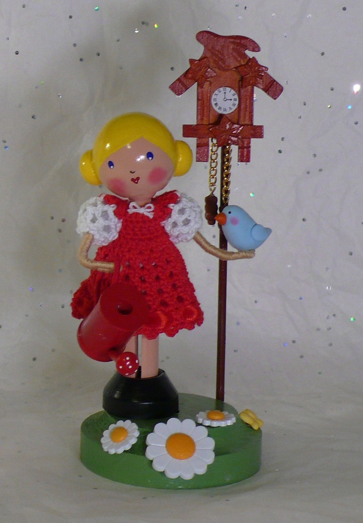 I Make My Own Sunshine - Clothespin Doll   Flickr