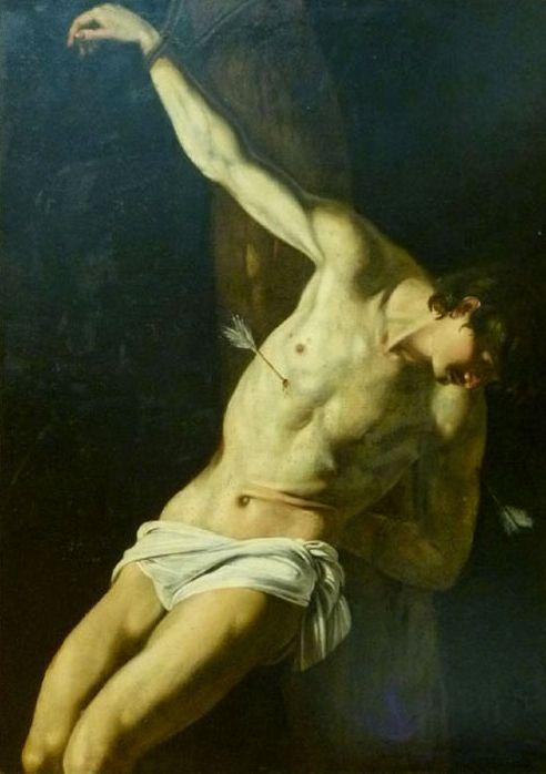 Orazio Gentileschi, Saint Sebastian, 17th century