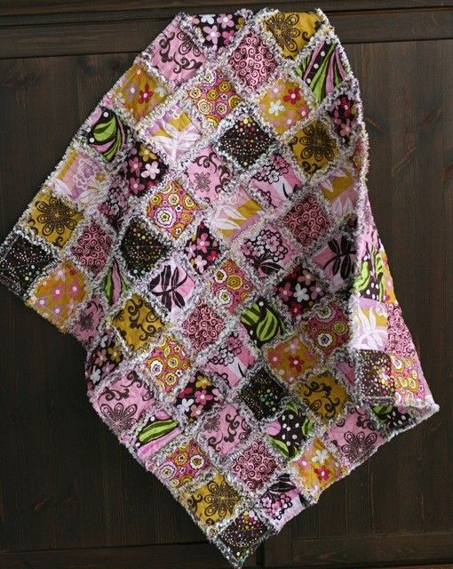 111 Best All Rag Quilts Images On Pinterest Blanket Embroidery