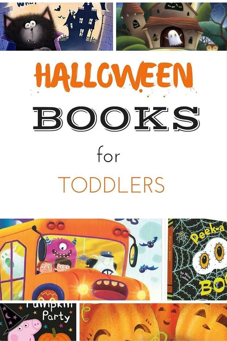 Halloween books for toddlers and preschoolers. If you are looking for some great books for toddlers with a Halloween theme, then we have selected them for  you!