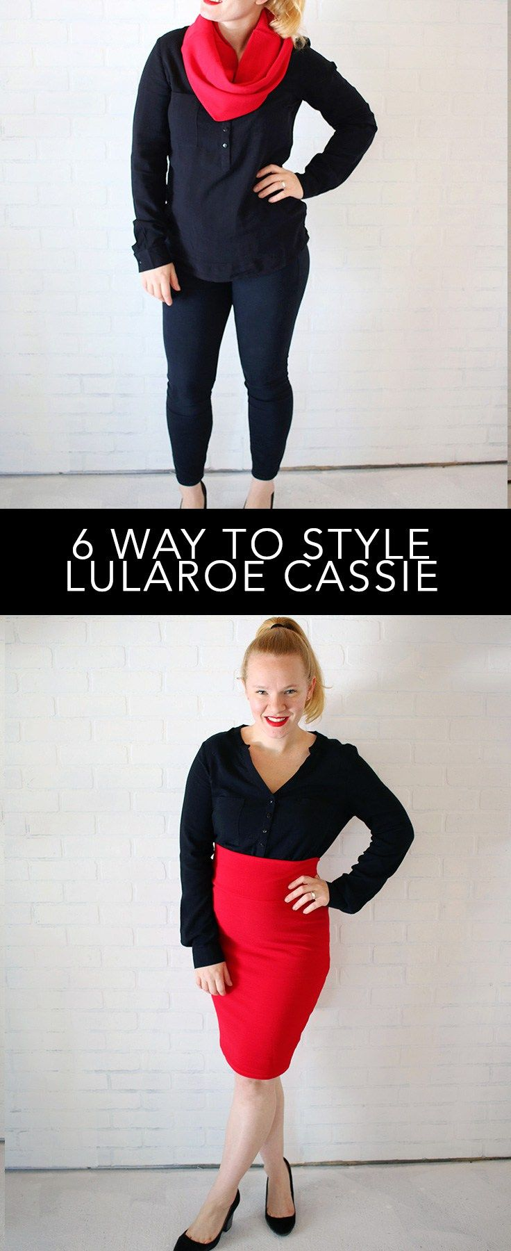 How to style Lularoe Cassie Skirt for work or play! You love the Lularoe Cassie skirt but can't figure out how to style or sizing? I'll show you the way!