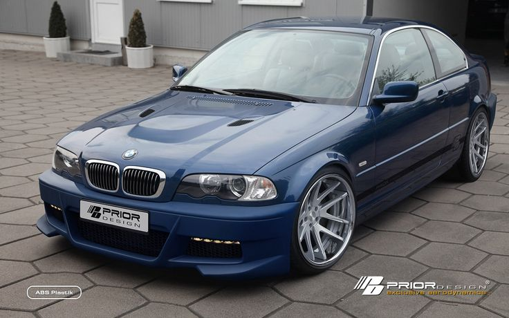 PRIOR-DESIGN Aerodynamic-Kit for BMW 3-Series E46 Coupe - PRIOR-DESIGN Exclusive Tuning