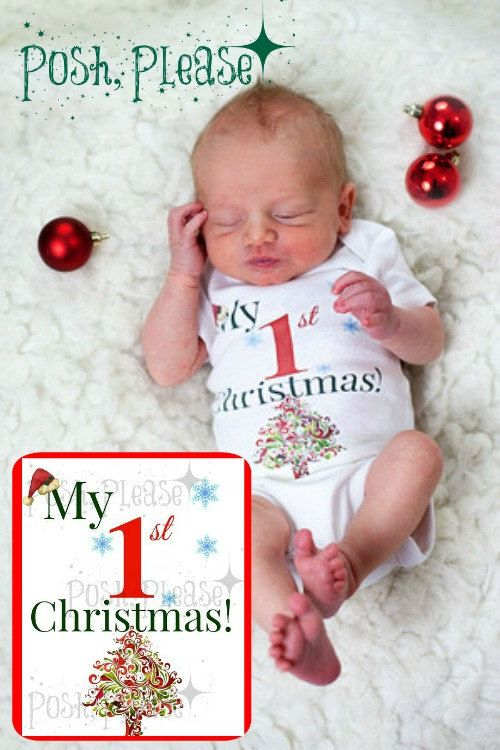 First Christmas Outfit Newborn Christmas Outfit My by PoshPlease