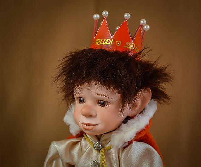 Prince - Custom made one of a kind art porcelain doll by LegendLand Dolls