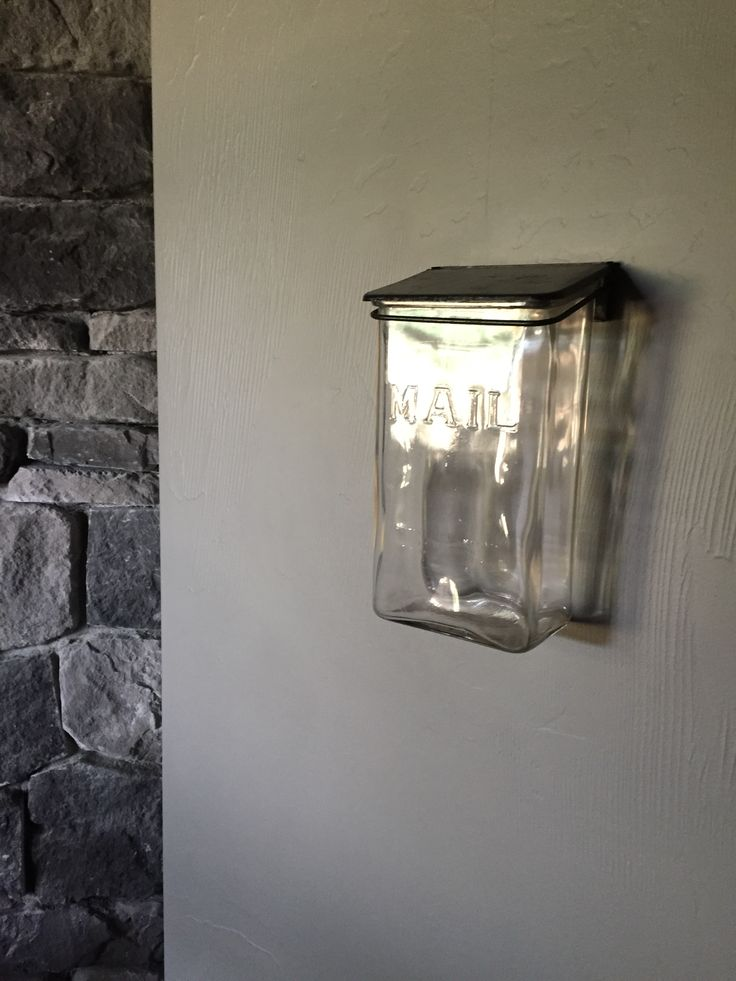 A Vintage Glass Mailbox Purchased From Ebay And Featured