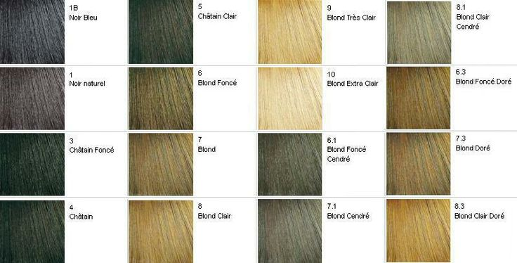 Nuancier Faicolor Cheveux Couleurs Pinterest