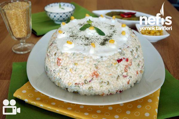 Yedikçe Yedirten Kuskus Salatası Tarifi Videosu