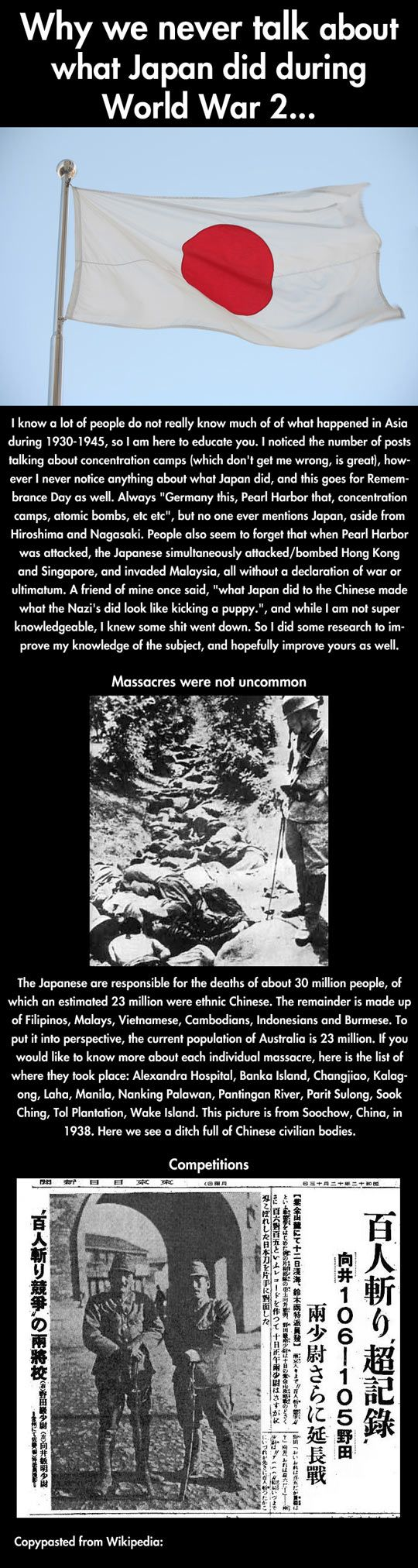 Japan War Crimes - WWII Unit