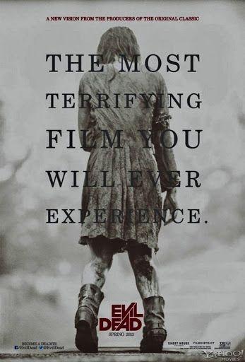 Remake de Evil Dead - A Morte do Demônio acompanha cinco amigos (David, Natalie, Eric, Olivia e Mia) que se hospedam numa cabana isolada numa floresta e lá descobrem o Livro dos Mortos, que liberta um espírito demoníaco. A protagonista é Mia (Jane Levy), uma viciada em drogas que procura se reabilitar. Porém os sintomas de sua desintoxicação se misturam com os eventos sobrenaturais que ela passa a presenciar no local.
