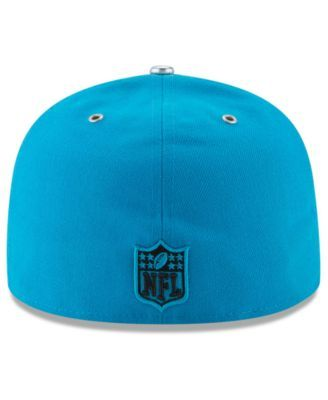 New Era Carolina Panthers 2017 Draft Team Color 59FIFTY Fitted Cap - Blue 7 3/8