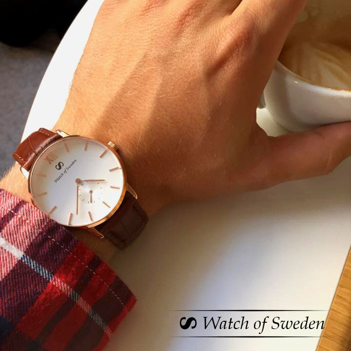 Awesome timepiece from Watch of Sweden