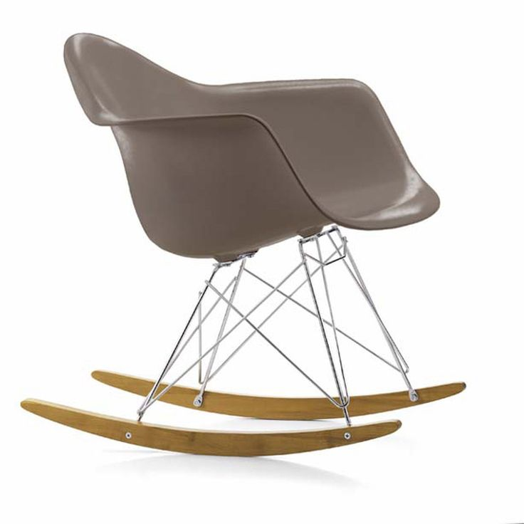 The Eames RAR Plastic Rocking Chair Was First Presented As Part Of The  Famed New York Museum Of Modern Art Competition, ...
