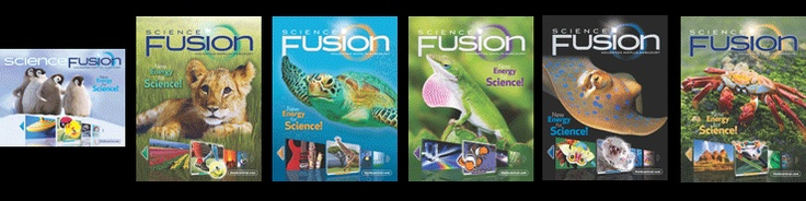 Houghton Mifflin Harcourt.  Science textbooks that are worktexts and interactive lessons.