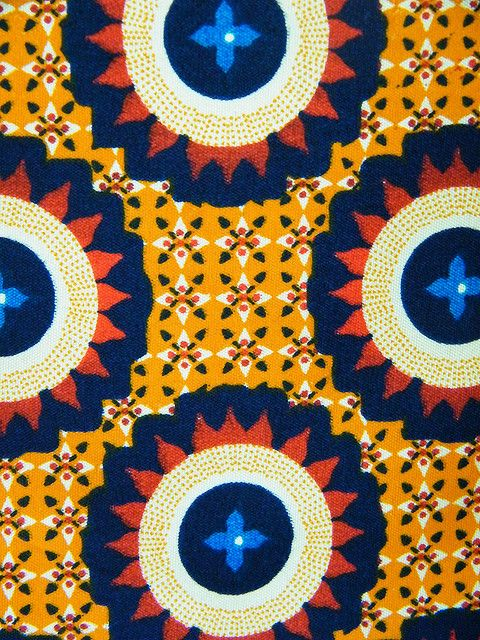 African textiles love it! #ecrafty