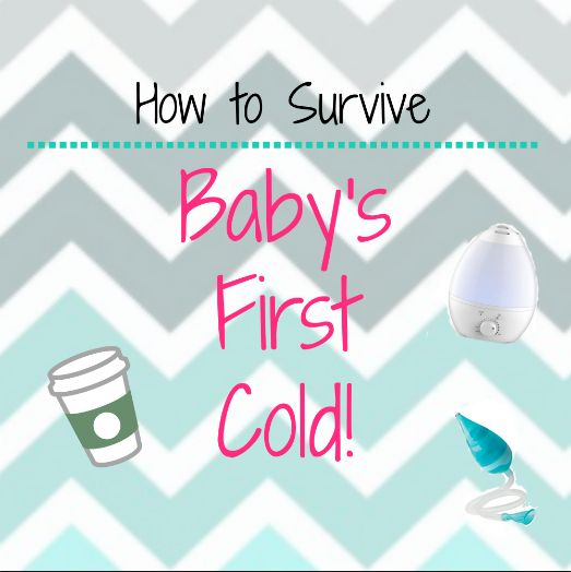 How to Survive Baby's First Cold – The Cherished Life