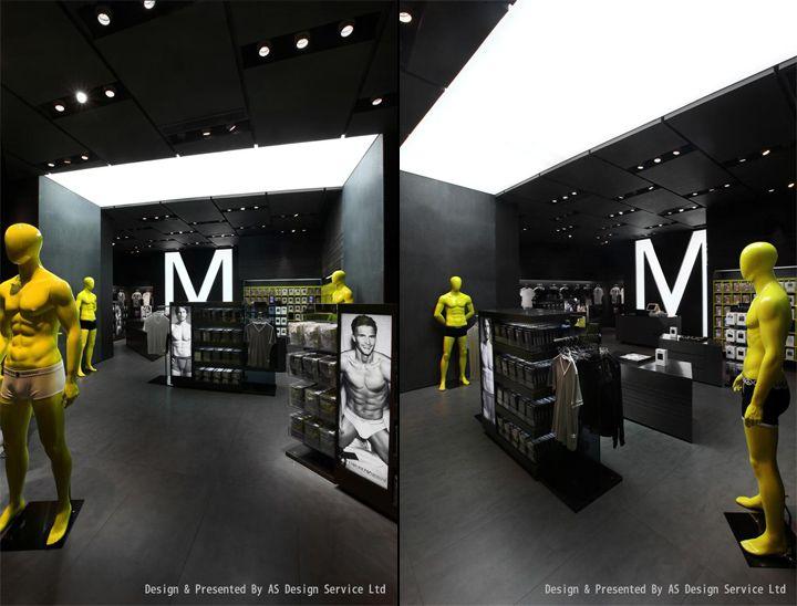UM mens underwear store AS Design Shenzen 03 UM mens underwear store by AS Design, Shenzhen
