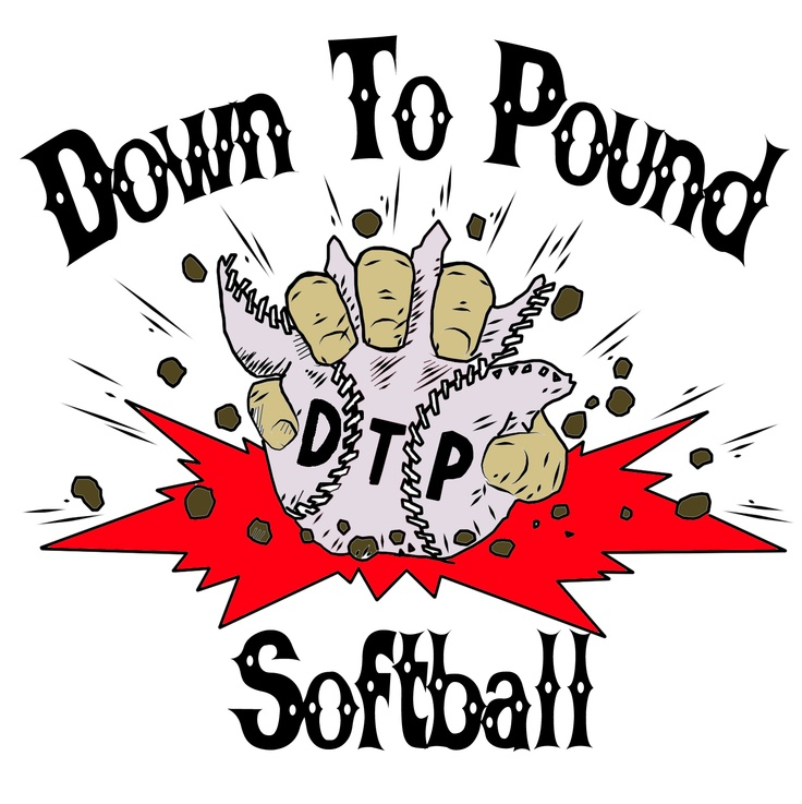 Down to Pound Softball: Logo | Graphic Design Portfolio ...