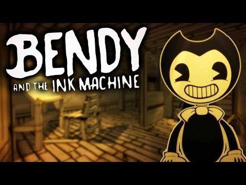 СТРИМ Bendy and the Ink Machine. Прикольная игра. Бенди и чернильная маш...