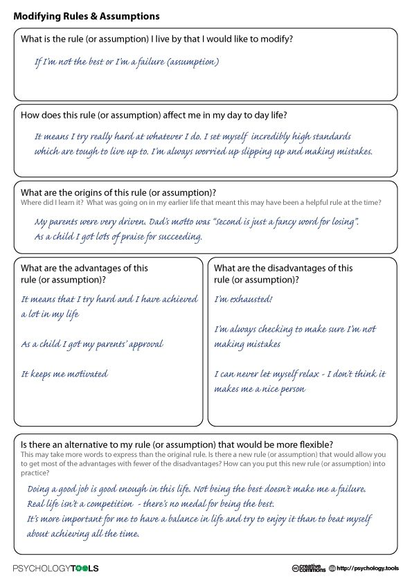Super Teacher Cbt Worksheets For Therapy Amp Self Help