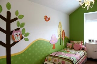 Not sure which girl I would do this for, but I want this room for one of my daughters.  Love the owl theme!