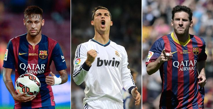Ballon d'or Fifa : Neymar, Ronaldo et Messi finalistes