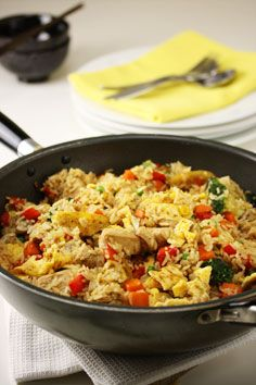 Honey Chicken with Vegetables & Rice Recipe - weightloss.com.au