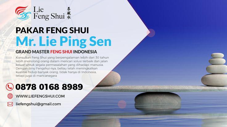 Mr Lie adalah seorang master Fengshui di Indonesia. Mr Lie berharap dapat menggunakan ilmunya untuk membantu banyak orang dalam mencari SOLUSI TERBAIK, jalan keluar segala permasalahan yang dihadapi  Informasi dan Konsultasi tentang Fengshui hubungi: Lie Feng Shui CALL/SMS/WA 0878-0168-8989 Website: LIEFENGSHUI.COM Get Connected Facebook: http://www.facebook.com/ahlifengshuiindonesia Youtube: http://www.youtube.com/channel/UCuPZhEH9K_9X9xZJdoTr22A Instagram…