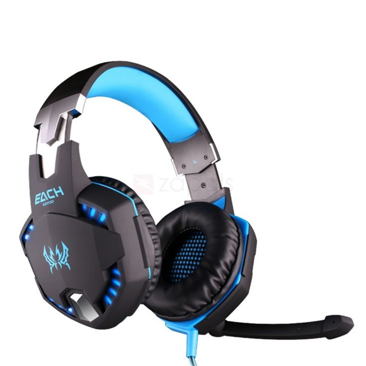 EACH G2100 3.5mm Surround Sound PS4 Gaming Headset w/ Mic