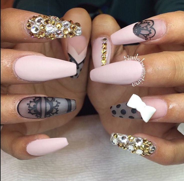 708 best Nails images on Pinterest | Beauty tutorials, Coffin nails ...