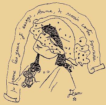 Cocteau pour Anna de Noailles