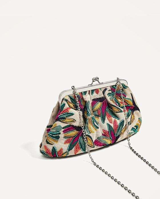 Image 5 of BEADED CROSSBODY BAG WITH CLASP FASTENING from Zara