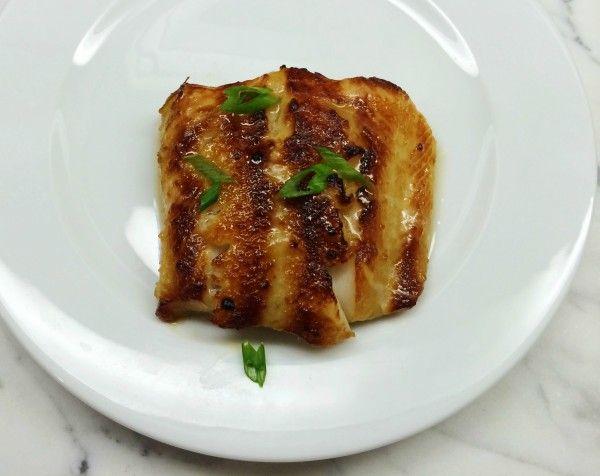 Miso-Glazed Black Cod Recipe