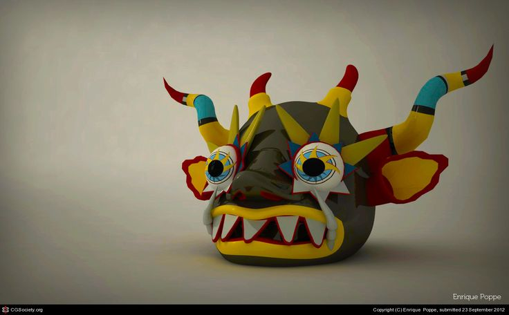 Diablada by Enrique Poppe | 3D | CGSociety