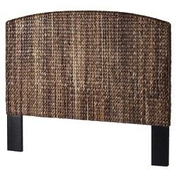 Andres Seagrass King Headboard - Honey | Seagrass ...